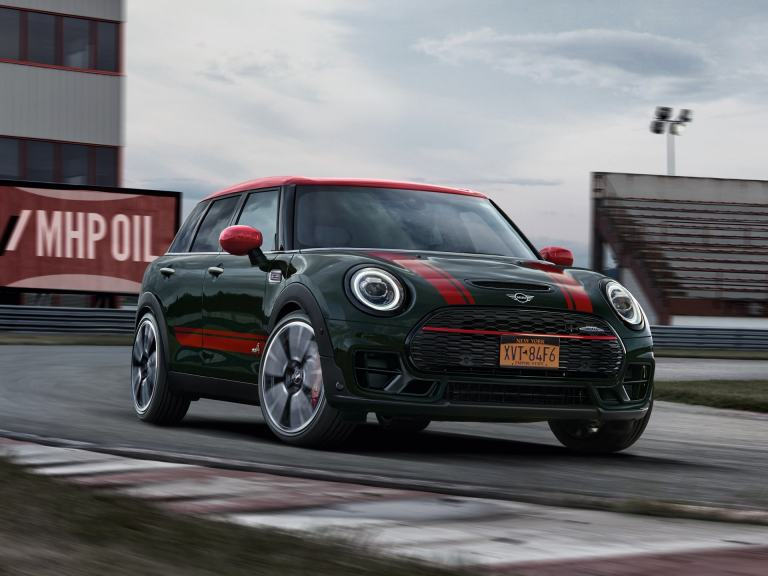 MINI John Cooper Works Clubman – front view – race track
