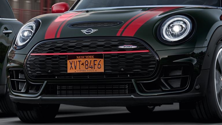 MINI John Cooper Works Clubman – front bumper– air intakes